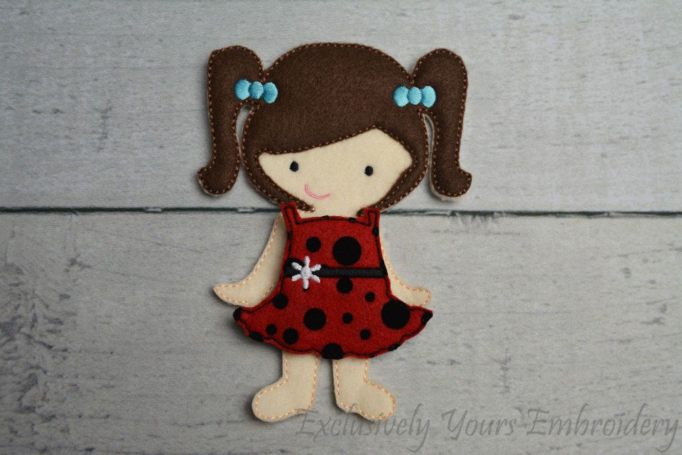 Anslee Non Paper Doll Exclusively Yours Embroidery