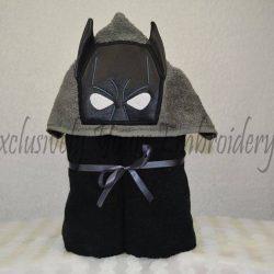 Bat Hero Hooded Towel