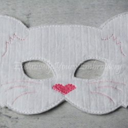 Cat Childrens Felt Mask