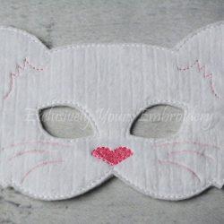 Cat Childrens Felt Mask
