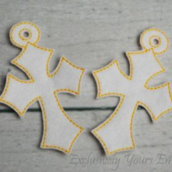 Cross Christmas Ornaments