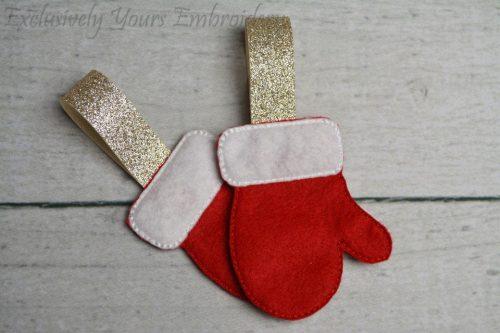 Mitten Christmas Ornament