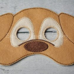 Puppy Childrens Felt Mask