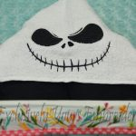 Boy Skeleton Hooded Towel
