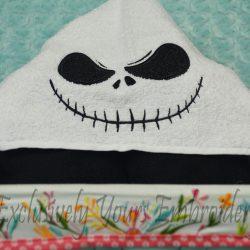 Boy Skeleton Hooded Towel