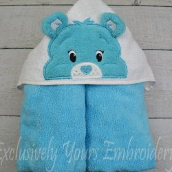 Baby Tugs Bear Hooded Towel