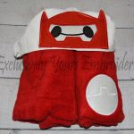 Inflatable Hero Hooded Towel