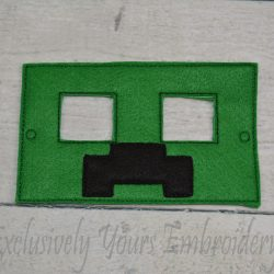 Creeper Inspired Childrens Felt Mask