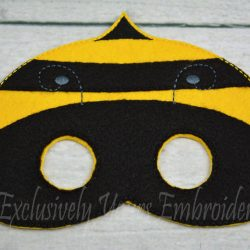 Bumblebee Childrens Felt Mask