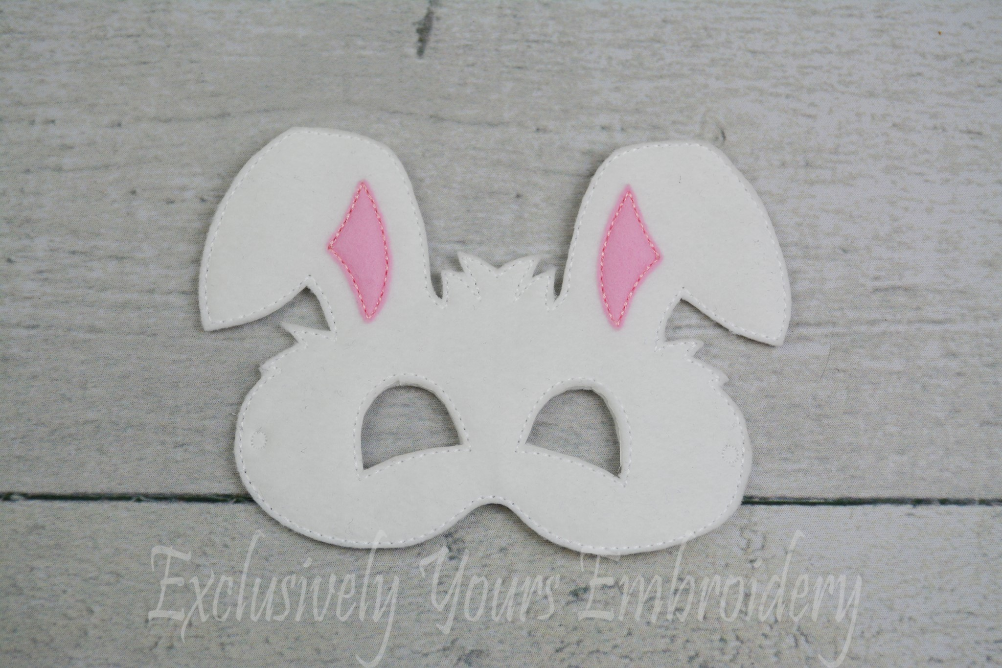 Bunny Rabbit Childrens Felt Mask - Exclusively Yours ...