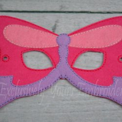 Butterfly Childrens Felt Mask