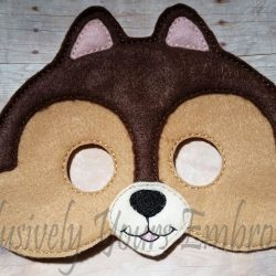 Chipmunk Childrens Felt Mask