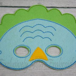 Dino Childrens Felt Mask