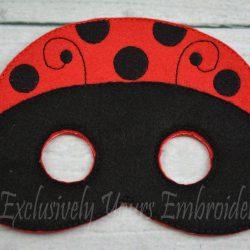 Ladybug Childrens Felt Mask