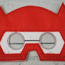 Baymax Hero Inspired Childrens Felt Mask