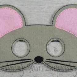 Mouse Childrens Felt Mask