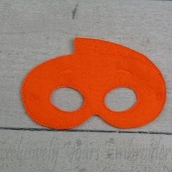 Mr Grouper Inspired Childrens Felt Mask