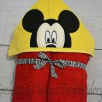 Mr Mouse Hooded Towel
