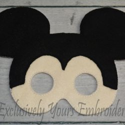 Mickey Inspired Childrens Felt Mask