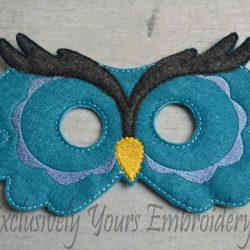 Owl Childrens Felt Mask
