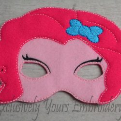 Pinkie Pie Inspired Childrens Felt Mask