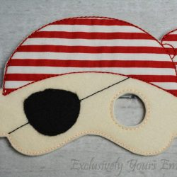 Pirate Childrens Felt Mask 1