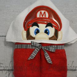Plumber M Hooded Towel