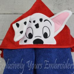 Spot Hooded Towel