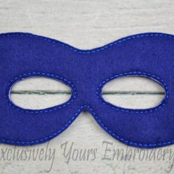 Superhero Childrens Felt Mask
