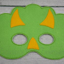 Triceratops Childrens Felt Mask