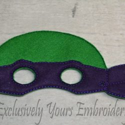 Turtle Childrens Felt Mask 1
