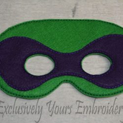 Turtle Childrens Felt Mask 2