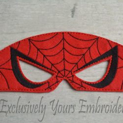 Web Hero Childrens Felt Mask