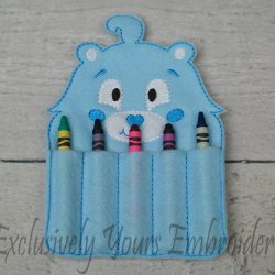 Carebear Inspired Crayon Holder