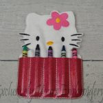 Happy Kitty Crayon Holder