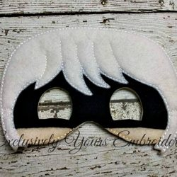 Luna Villain Childrens Felt Mask