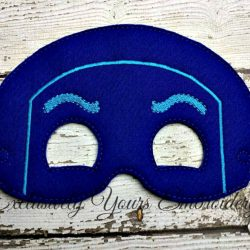 Ninja Villain Childrens Felt Mask