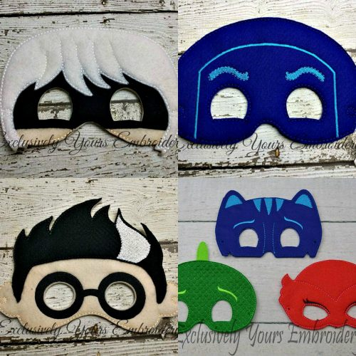 PJ Super Hero Felt Mask Super Set