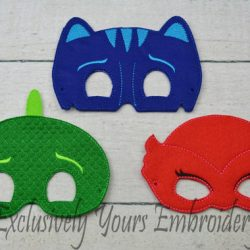 PJ Super Hero Childrens Felt Mask Set