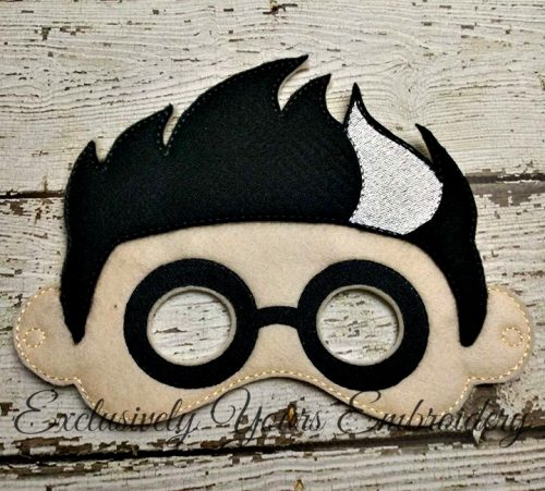 Mad Scientist Villain Childrens Felt Mask