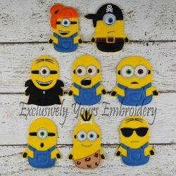 Yellow Followers Finger Puppets Set