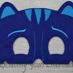 Blue Cat Childrens Felt Mask