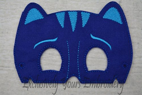 Blue Cat Childrens Felt Mask