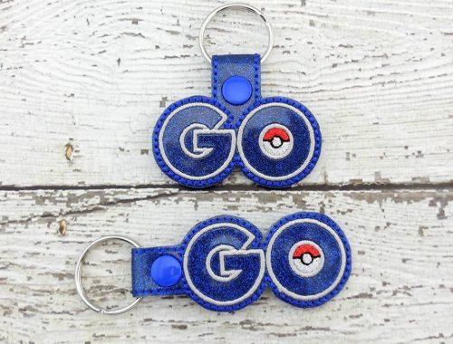 Poke Go Keychain