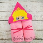 Sleeping Beauty Hooded Towel