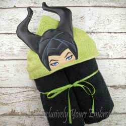 Evil Fairy Queen Hooded Towel