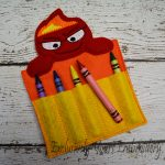 Anger Inspired Crayon Holder