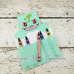 Bulbasaur Inspired Crayon Holder