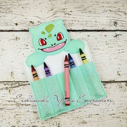 Bulbasaur Inspired Crayon Holder