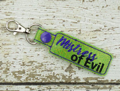 Mistress of Evil Keychain